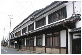 Traditional sake brewery