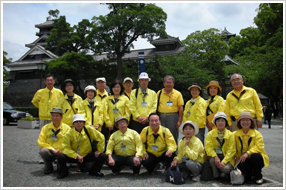 Sight-seeing volunteer guides